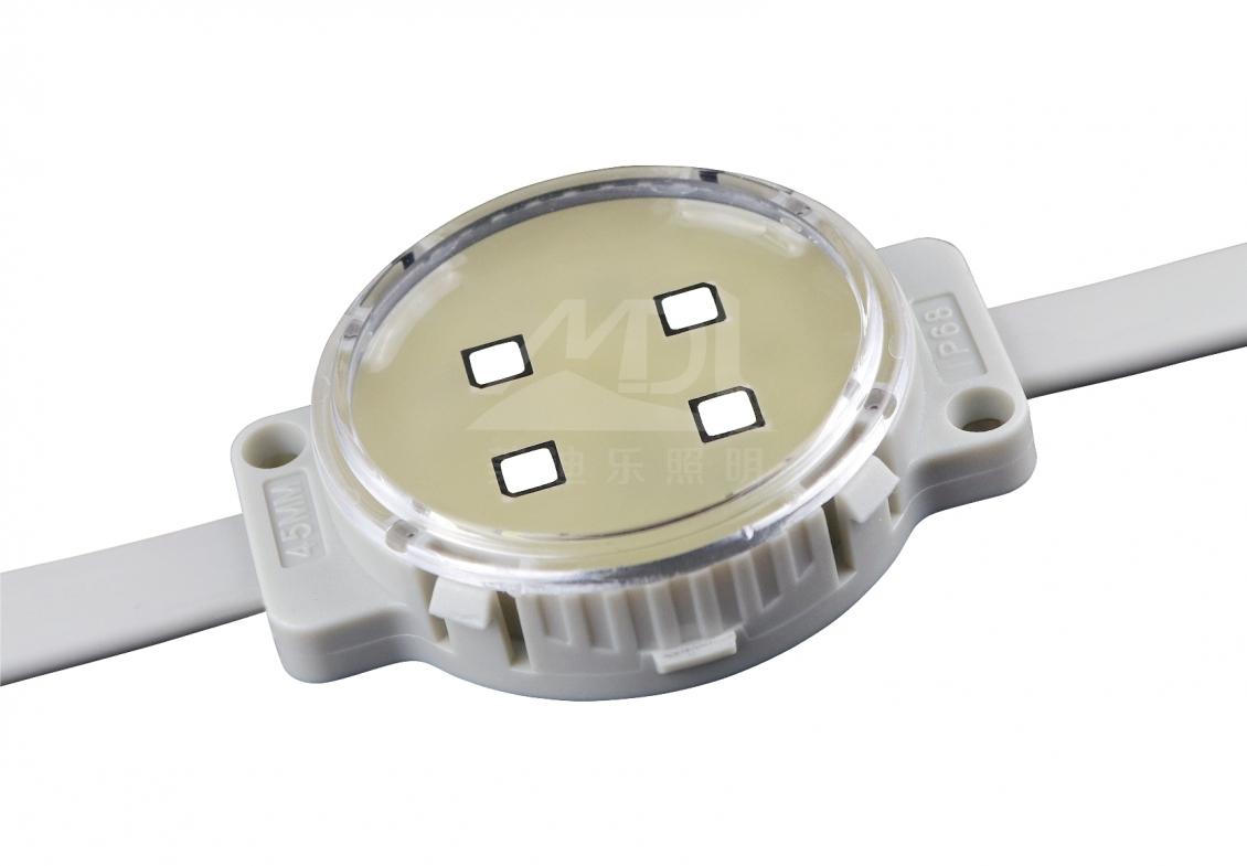 点光源厂家的景观LED照明设计在整体的考虑有几点