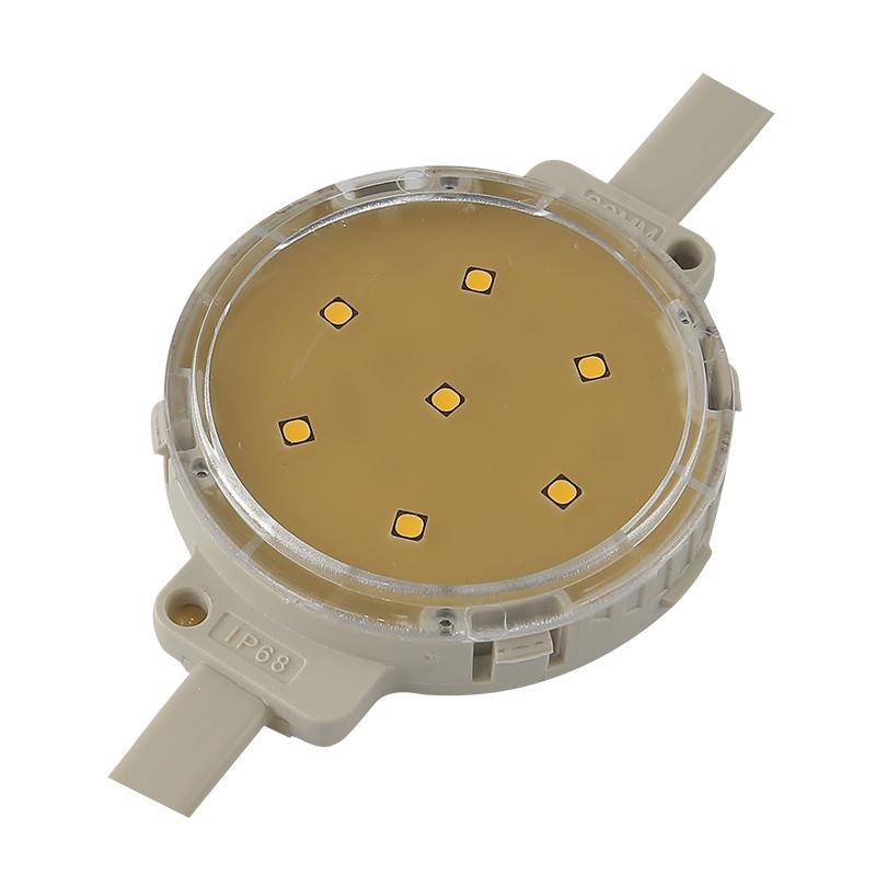 LED点光源给大型建筑造就完全独出心裁的视线效果