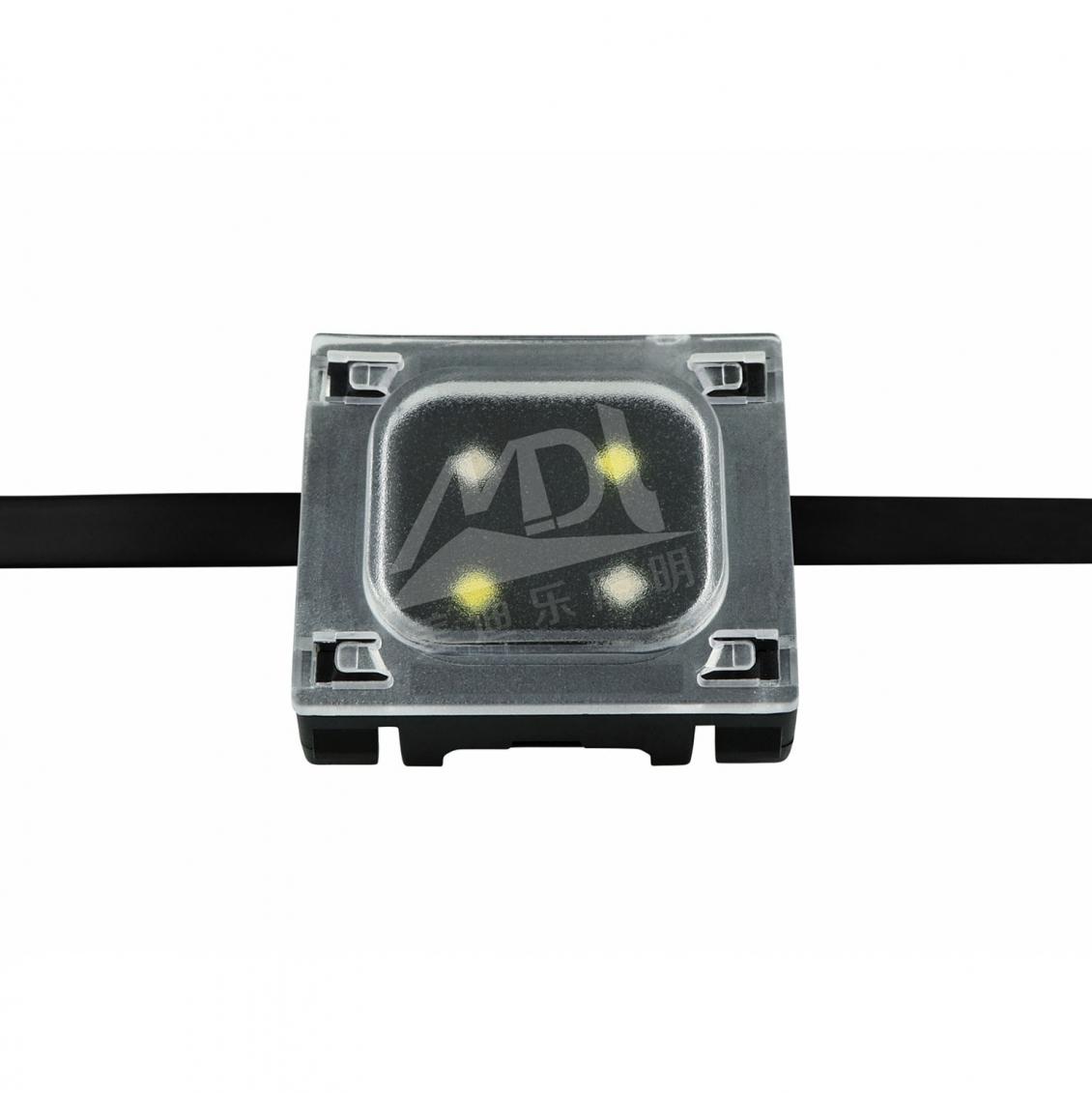 LED点光源有变幻的色彩和丰富的动态照明效果
