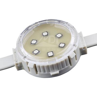 二次封装点光源系统控件可以显示彩色的光图像而不是显示器的功能
