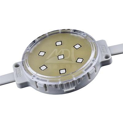 二次封裝点光源一般选用抗UV的封裝原材料