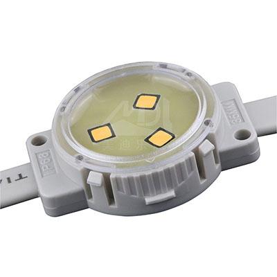 LED点光源采用铝制底座散热防潮特性优异